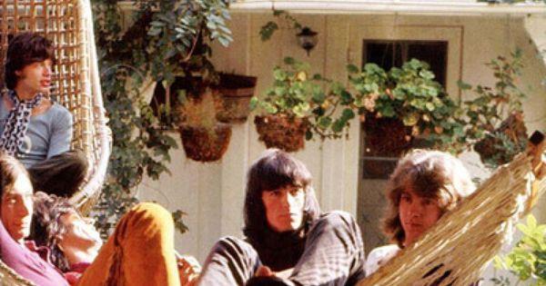 Mick Jagger Charlie Watts Keith Richards Bill Wyman Mick Taylor Stephen Stills House In