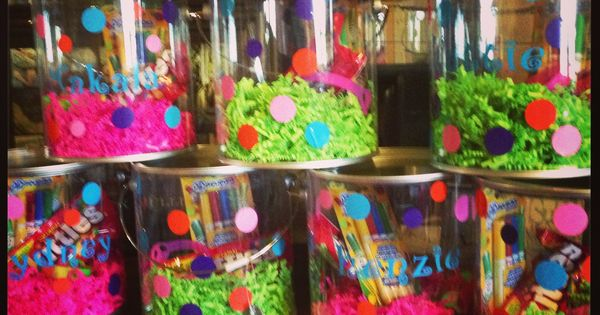 Personalized Party Favors