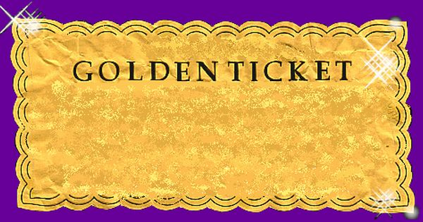 image regarding Wonka Golden Ticket Printable named golden ticket surf lesson reward certificates. willy tattoo high definition