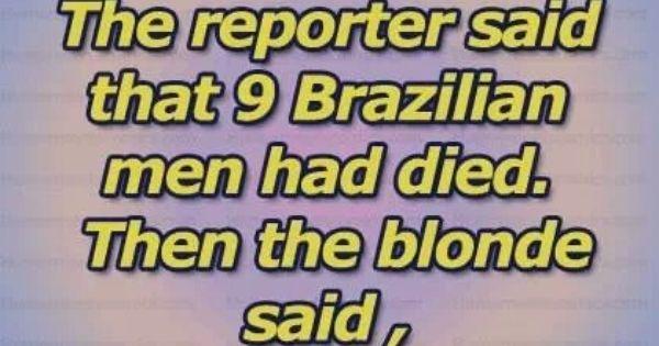 Dirty Dumb Blonde Jokes