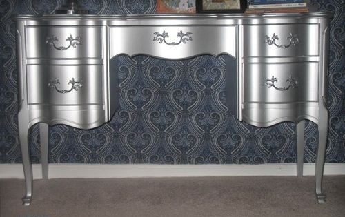 WOW Using Rustoleums Metallic Aluminum Enamel Paint By