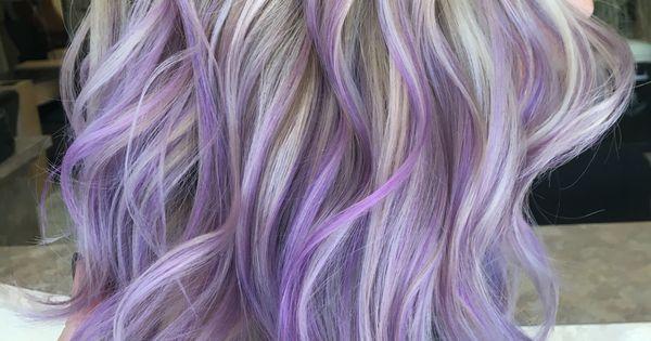 Blonde Hair Titanium Ash Blonde Pastel Light Purple Lilac