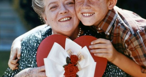 Still Of Ron Howard And Frances Bavier In The Andy
