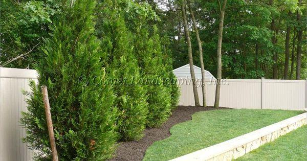 Landscape Corner Fence Garden Ideas