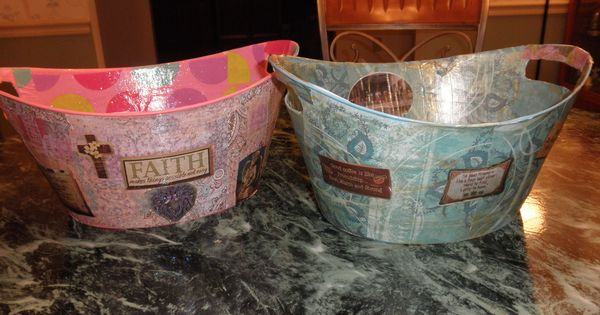Tree Ice Buckets Dollar Plastic
