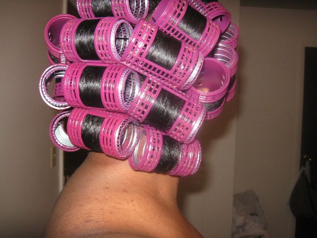 Natural Rollerset Using Mesh Rollers Lottabody And Mesh