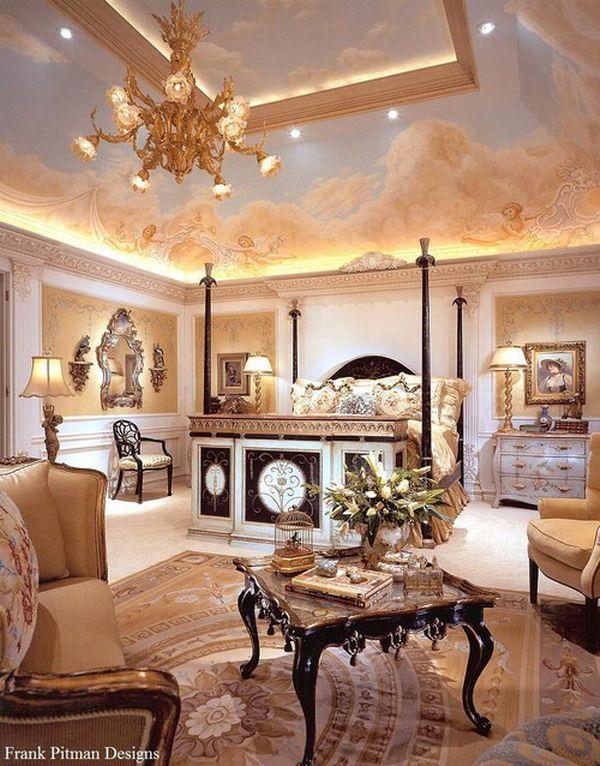 Opulent Master Bedroom Elegant Rooms Pinterest