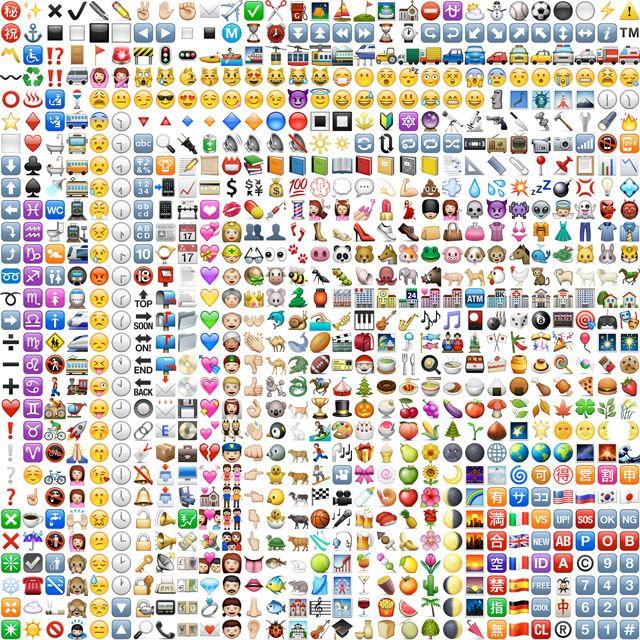 All Single Emoji Faces Emojis Polyvore diy/crafts