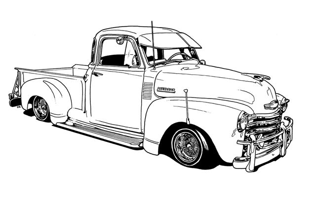 chevy trucks trucks and coloring on pinterest