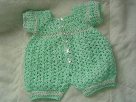 Wholesale Newborn Boy Romper Crochet Free Pattern Google Modern