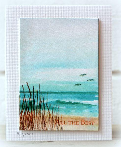 20 Best Ideas About Beach Cards On Pinterest Handmade