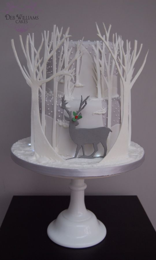 Best 20 Winter Cakes Ideas On Pinterest Christmas Cake