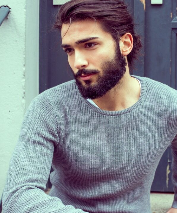 Hair Beard Grey Sweater Style Men Tumblr Style