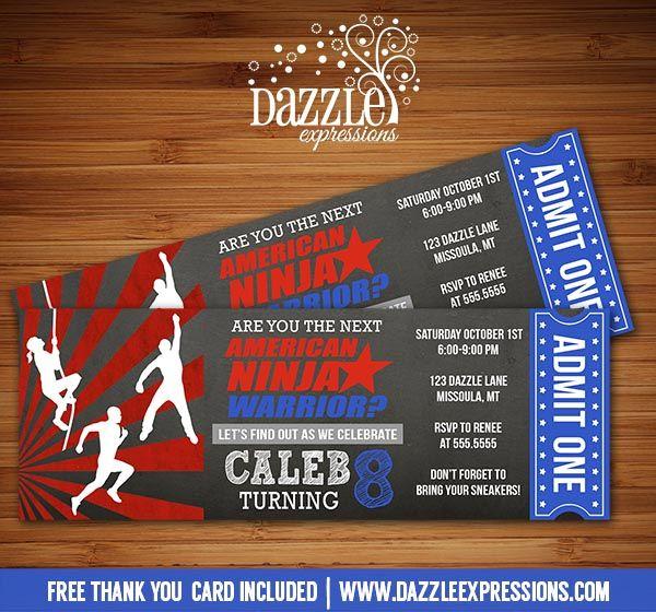 Bday Party Invitation Card