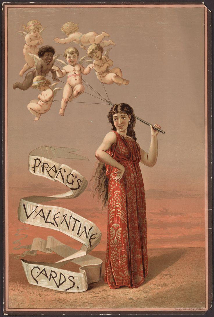 Louis Prang 1824 1909 Valentine Card 1883