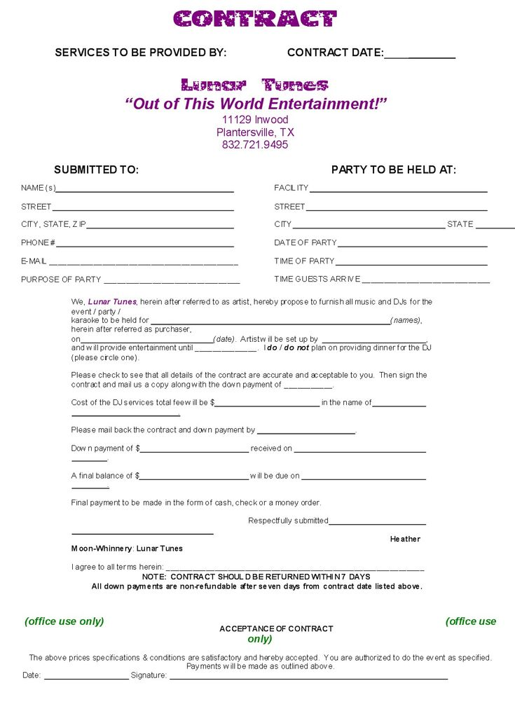 Dj Contract Template NON COMPETE AGREEMENT D J Contracts Real State Pinterest D