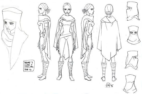 Star Wars The Clone Wars Character Design Model Sheet
