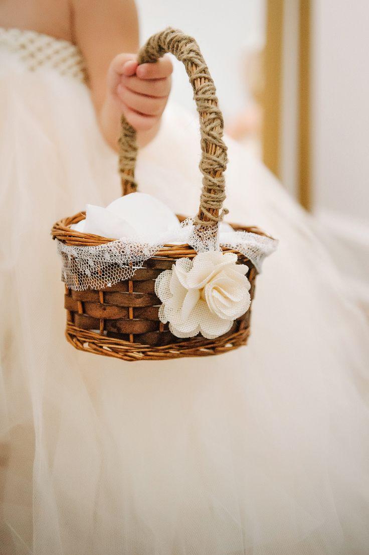 25 Best Ideas About Flower Girl Basket On Pinterest