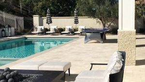 Celebrity Homes Kylie Jenner's Backyard Pool