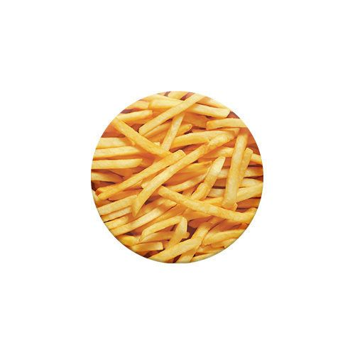 PopSockets Single French Fries PopSocket Universal Holder French Fries And French