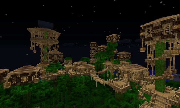 20 Best Images About Minecraft Treehouses On Pinterest