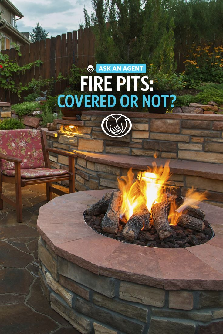 Does your backyard makeover include a fire pit? Before