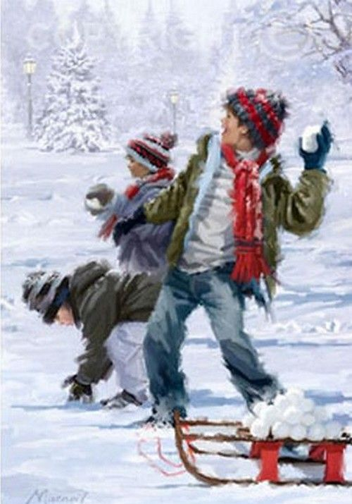 Illustrations De Richard Macneil Christmas Art Richard