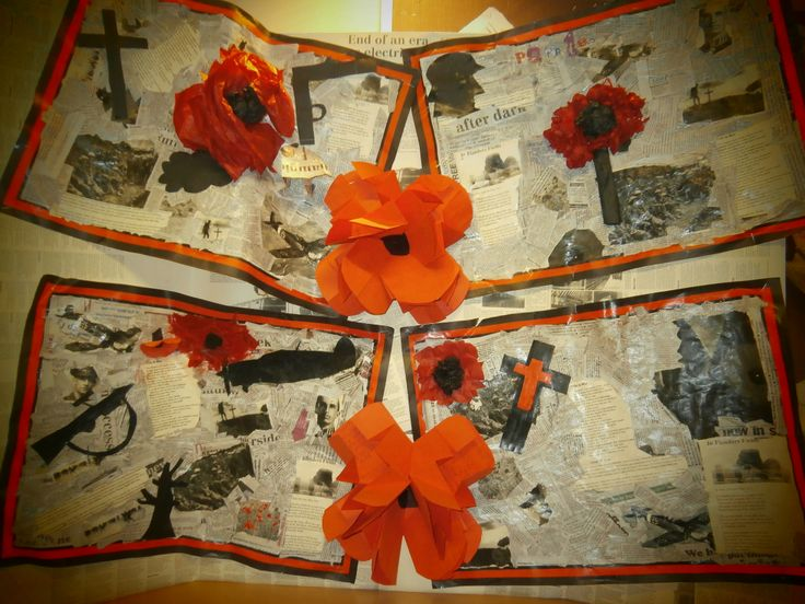 Rememberance Day Art With Poem Poppies ANZAC Day