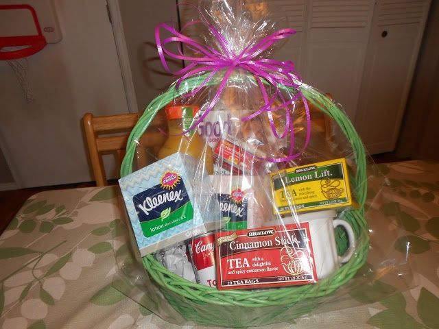 Making A Get Well Gift Basket For A Friend Who Is Sick Is