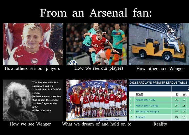 Arsenal meme The Beautiful Game Pinterest A meme