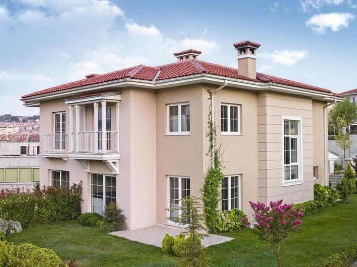 Cool Exterior House Paint Colors: Pastel Exterior House