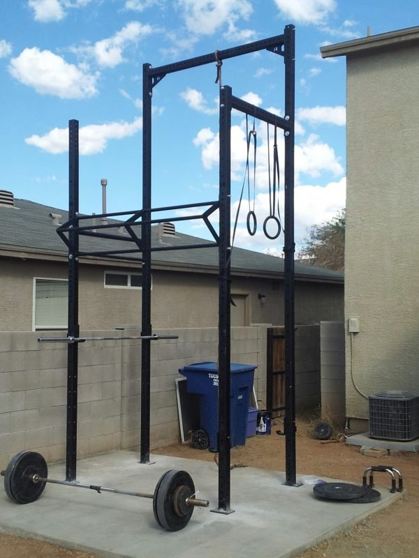 Rogue Equipped Garage Gyms – Photo Gallery