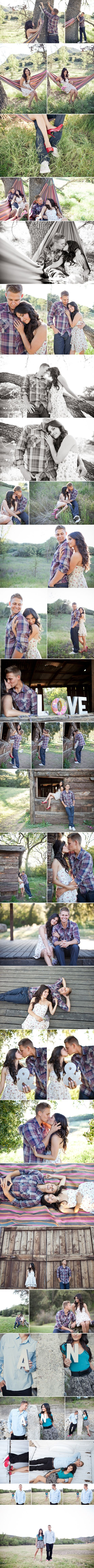 I love everything about these engagement pictures.