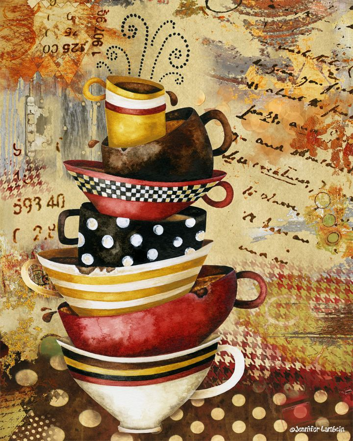 25 Best Ideas About Coffee Cup Art On Pinterest Coffee