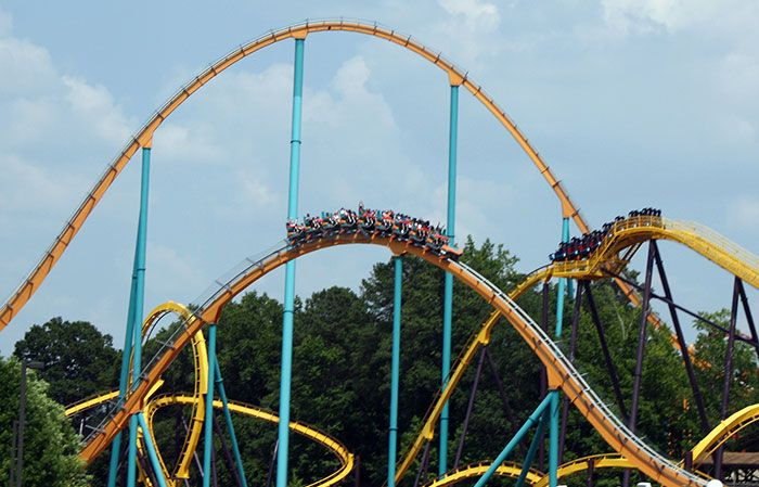 Six Flags Roller Coasters Grown Ups