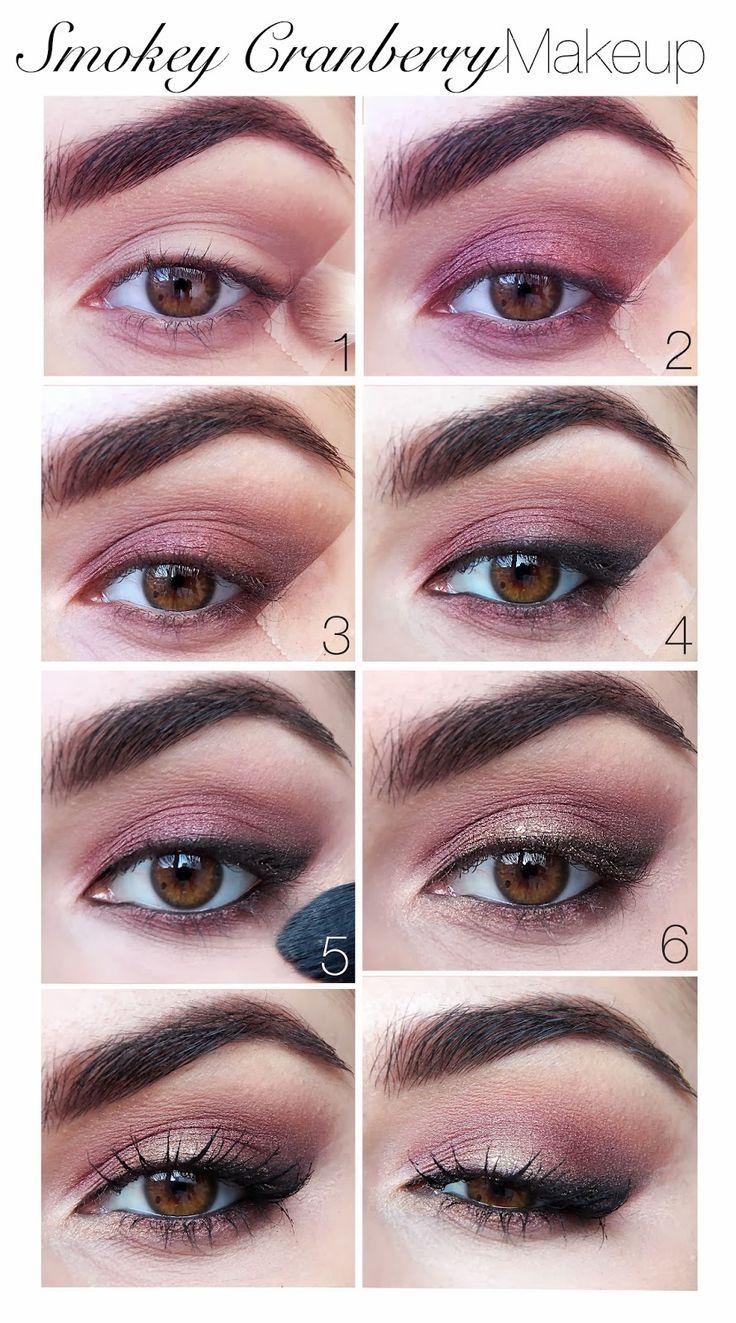 Smokey Cranberry Makeup Tutorial – Elf Burnt Plum Baked Eyeshadow