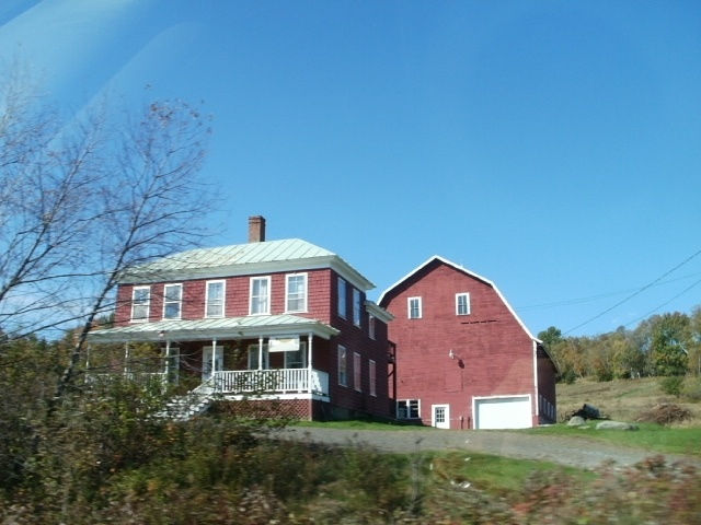 My dream for Maine would be to live in an old farm house