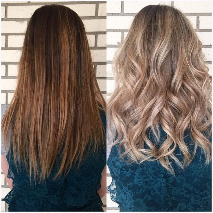 From Brown And Brassy To Blonde And Sassy Beforeandafter