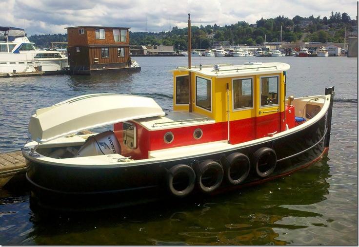 Coot Goliath Mini Tug Boats Pinterest Boats Minis