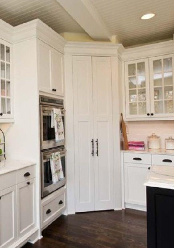 title | Corner Kitchen Pantry