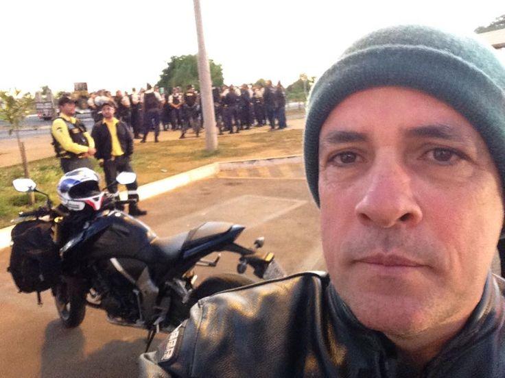5-8-2015 AGEFIS - Desocupação de área pública em Vicente Pires - DF