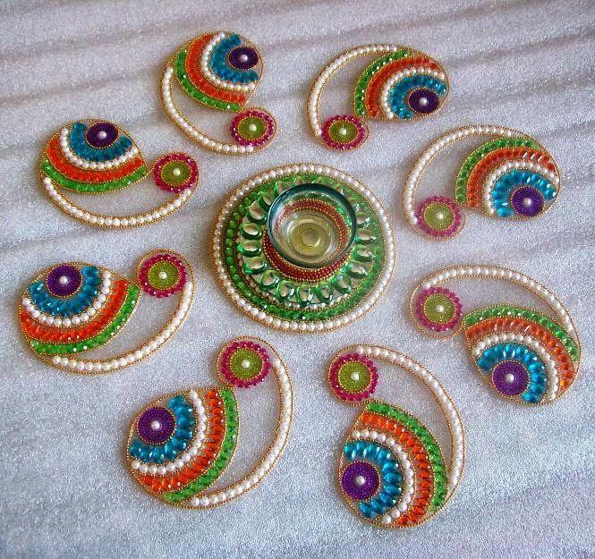 Beautiful Rangoli Designs for Diwali Deepavali Rangoli