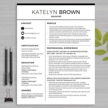 1000 ideas about teacher resumes on pinterest teacher resume