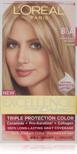 LOreal Paris Excellence Creme Hair Color 85A Champagne