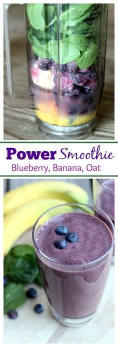 This Power Smoothie is my go-to breakfast! Full of healthy ingredients and you&#39