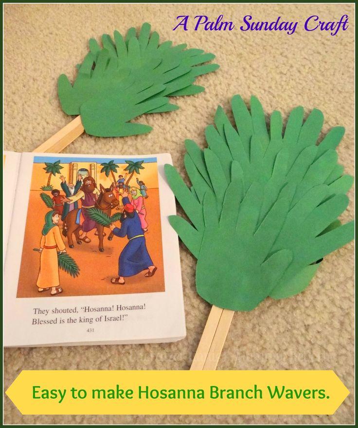 Easy to make Hosanna Branch