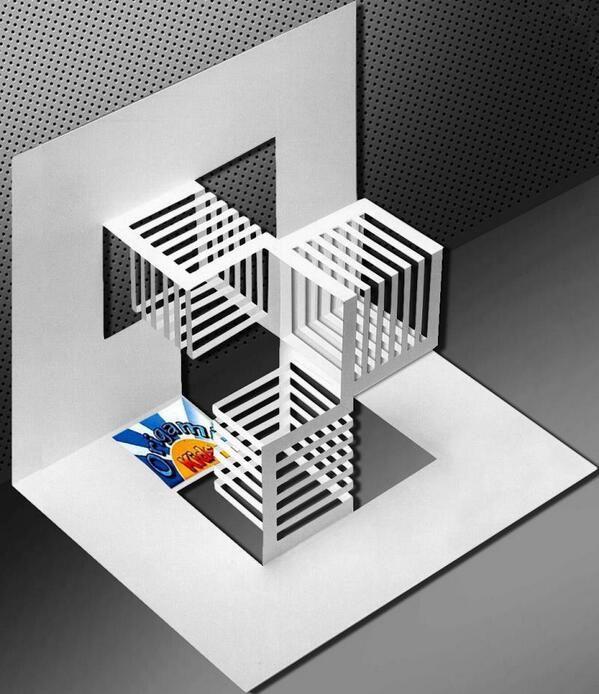 Kirigami Kp Tasa Krigami Pinterest Cubes Search