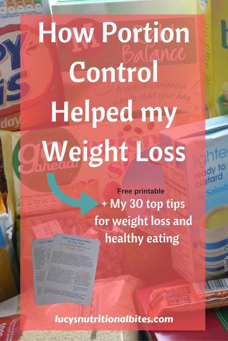 How Serving Sizes Helped Me Lose Weight Free Printable Motivation And Weight Loss Tips