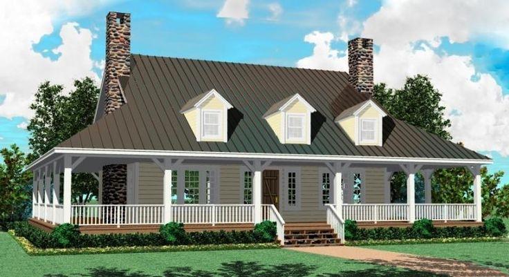 English Style Single Story Homes