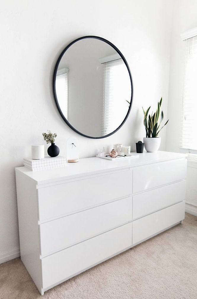 Bedroom Organization Progress White Dresser Ikeawhite Modern